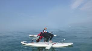 Paddle surf-County Wicklow-SUP in Bray Harbour-1