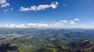 Paragliding-Ticino-Tandem paragliding from Monte Tamaro in Ticino-6