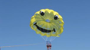 Parasailing-Santorini-Parasailing flight in Santorini-3
