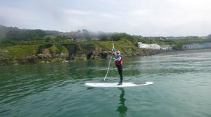 Paddle surf-County Wicklow-SUP in Bray Harbour-3