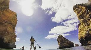 Stand Up Paddle-Lagos-Balade en SUP de Burgau jusqu'à Praia da Luz, près de Lagos-5