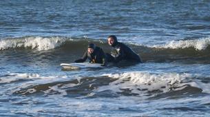 Surf-Halmstad-Beginner surfing lesson in Halmstad-5