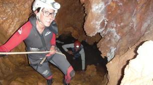 Espeleología-Ronda-Espeleología en Cueva Excentrica en Ronda, Málaga-3