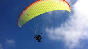 Paragliding-Alicante-Tandem paragliding in Santa Pola near Alicante-6