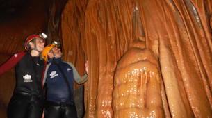 Espeleología-Ronda-Espeleología en Cueva Excentrica en Ronda, Málaga-1