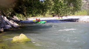 Kayak-Niza-Kayaking down the Var river from Villars-sur-Var-2