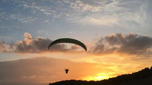 Paragliding-Ticino-Tandem paragliding from Monte Tamaro in Ticino-3