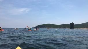 Kayak de mer-L'Île-Rousse-Randonnée en Kayak depuis la Plage de Lozari, Corse-4
