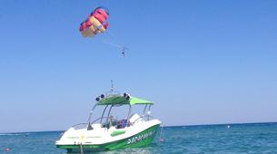 Parasailing-Rhodes-Parasailing flight from Tsambika Beach in Rhodes-6