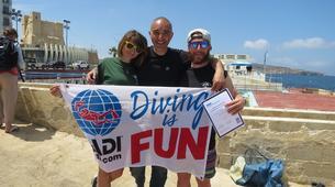 Scuba Diving-Bugibba-PADI Open Water Course in Bugibba, Malta-6