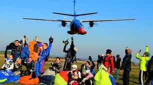 Skydiving-Prague-Tandem skydive from 15,000 ft, in Prague-4