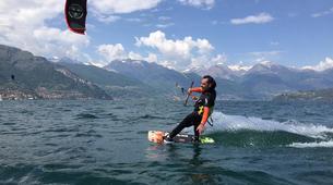 Kitesurfing-Lake Como-Beginner kitesurf course 5 hours in Lake Como-1