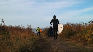 Surf-Halmstad-Beginner surfing lesson in Halmstad-2