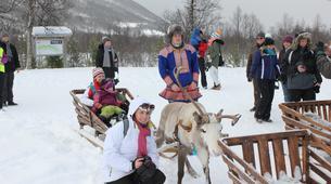 Reindeer sledding-Tromsø-Reindeer sledding day trip in Tromsø-2