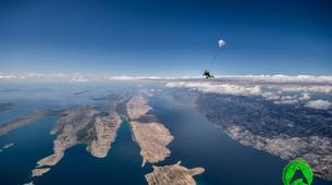 Parachutisme-Zadar-Parachutisme en tandem à Zadar, Croatie-4