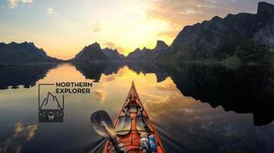 Kayaking-Lofoten-Kayak adventures in Eggum, Lofoten-1