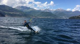 Kitesurfing-Lake Como-Beginner kitesurf course 5 hours in Lake Como-6