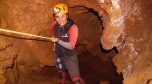 Espeleología-Ronda-Espeleología en Cueva Excentrica en Ronda, Málaga-5