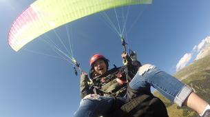 Paragliding-Brig-Glis-Tandem paragliding in Fiesch over the Aletsch Glacier-2