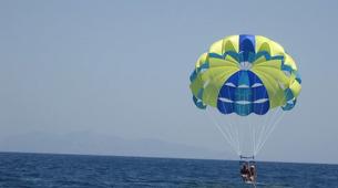 Parasailing-Santorini-Parasailing flight in Santorini-4