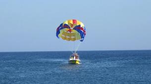 Parasailing-Santorini-Parasailing flight in Santorini-5