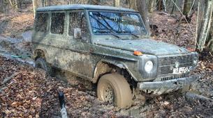 4x4-Karlovac-Off-Road Jeep Tour in Kamensco near Karlovac-6