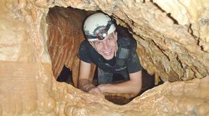 Espeleología-Ronda-Espeleología en Cueva Excentrica en Ronda, Málaga-8