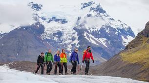 Glacier hiking-Skaftafell-Glacier Walk on Svínafellsjökull Glacier-1