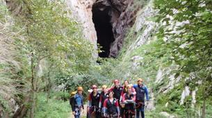 Espeleología-Ronda-Espeleología en Cueva Excentrica en Ronda, Málaga-7