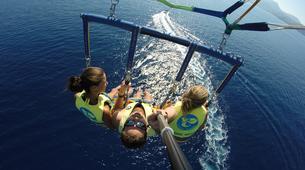 Parasailing-Rhodes-Parasailing flight from Tsambika Beach in Rhodes-5