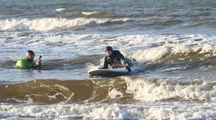 Surf-Halmstad-Beginner surfing lesson in Halmstad-1