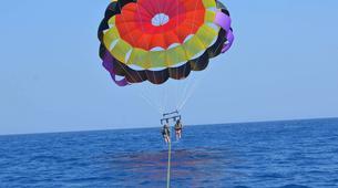 Parasailing-Santorini-Parasailing flight in Santorini-6