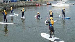 Paddle surf-County Wicklow-SUP in Bray Harbour-6