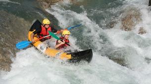 Rafting-Verdon Gorge-Kayaking down the Verdon river from Castellane-2