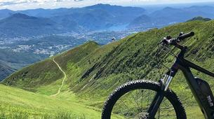 Mountain bike-Lugano-Electric mountain bike tours in Lugano-1