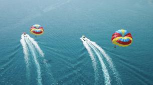 Parasailing-Rhodes-Parasailing flight from Tsambika Beach in Rhodes-4
