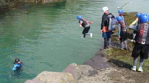 Coasteering-Conwy-Coasteering off the coast of Conwy-3