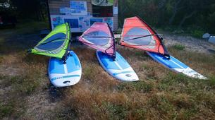 Windsurf-Porto Vecchio-Location de Funboard et Windsurf à Pinarello-1