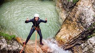Canyoning-Bled-Extreme Canyoning in the Soča Valley, near Bled-8