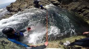 Coasteering-Conwy-Coasteering off the coast of Conwy-2