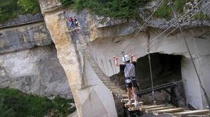 Via Ferrata-Avallon-Via Ferrata de la Grotte de Champ Retard en Bourgogne-2