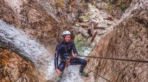Canyoning-Bled-Extreme Canyoning in the Soča Valley, near Bled-1