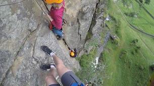 Klettersteig-Villach-Klettersteig zum Fallbachwasserfall, bei Fischertratten-5