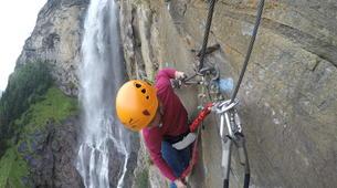 Klettersteig-Villach-Klettersteig zum Fallbachwasserfall, bei Fischertratten-1