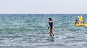 Stand up Paddle-Vilanova i la Geltru-SUP excursion in Ribes Roges beach in Vilanova i la Geltru, Catalonia-2