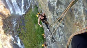 Klettersteig-Villach-Klettersteig zum Fallbachwasserfall, bei Fischertratten-2