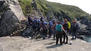 Coasteering-Conwy-Coasteering off the coast of Conwy-4