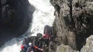 Coasteering-Conwy-Coasteering off the coast of Conwy-6