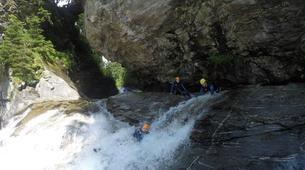 Canyoning-Villach-Canyoning Gößgrabenschlucht im Maltatal, bei Villach-2