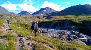 Randonnée / Trekking-Kiruna-Hiking trip in the Kebnekaise valley near Kiruna-1